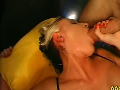 Dirty fetish slut fucked and piss drenched