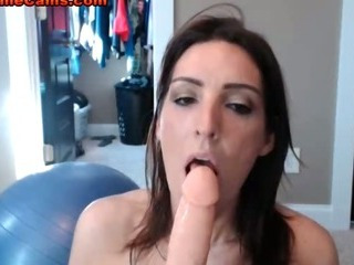 Porno Video of Tiny Tits Brunette Riding Cock