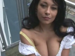 Porno Video of Mature Busty Danica Stripping And Showing Nice Bush