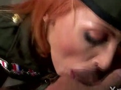 foxy-redhead-slut-gets-on-her-knees-to-blow-a-hard-rod-in-freaky-pump-fetish-scene