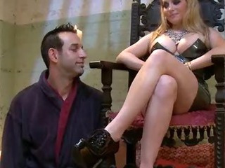 Porn Tube of Dirty Slave Girl Squirts