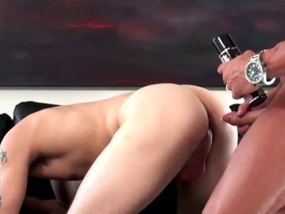 Sex Movie of Bisexual Dude Fucked At A Gaycasting