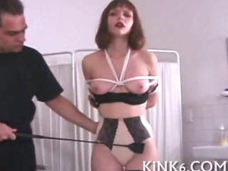 Porn Tube of Whore Is Strapped And Handcuffed