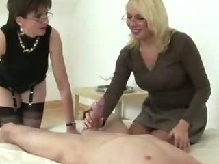 Porno Video of British Femdom British Sluts Punish Bound Man