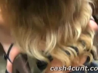 Porn Tube of Cute Ass Brunette Paid To Fuck After Flashed Cash By Porno Guy