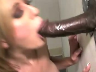 Porn Tube of Fetish Slut Gloryhole Black Cock Fuck And Creampie