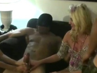 Porno Video of Drunken Amateur Women Get Nasty With Strippers At Party