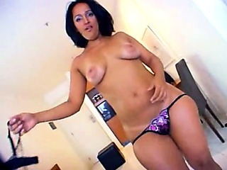 Porno Video of Latina Bubble Butt Smashed By Black Dick!