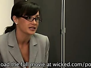 Porno Video of Lisa Ann & Tori Black In Hot Office Lesbian Action