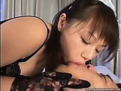 Naughty Maid Giving Blowjob & Titjob Combo