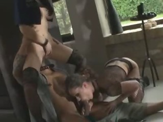 Porn Tube of Horny And Pervert Police Women