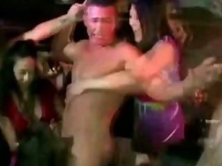 Porn Tube of Naughty Cfnm Real Sluts Suck On Cock