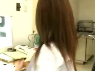 Porno Video of Japanese Nurse Blowjob And Facial Cumshot