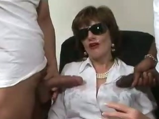 Porn Tube of British Mature Fetish Cumshot