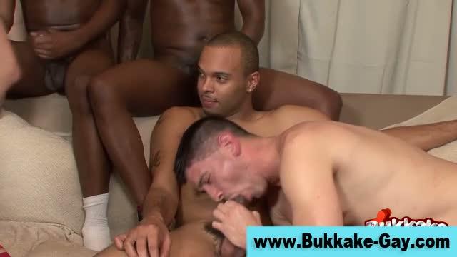Hot gays love amateur bukkake