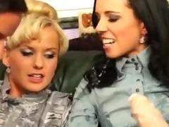 Hot bukkake hot lesbians get wam