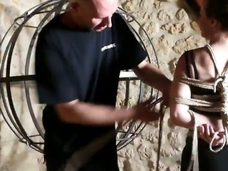 Porn Tube of Video Soumise Sandy Libertine Bdsm Seance Sm Bondage Hogtied Sexy