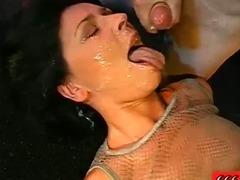 Watersports dirty fetish slut blowjob fuck piss shower