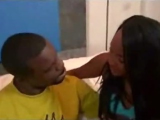 Sex Movie of Two Ghetto Ebony Booty Sluts Rammed