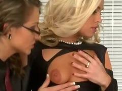 Femdom fetish cock restrained