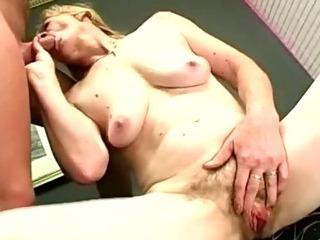 Porno Video of Granny Pussy Doggie Fucked