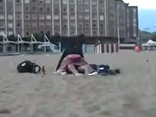Porn Tube of Crazy Girl Rides Her Bf In Public
