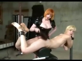 Porno Video of Chained Spanked And Electrified