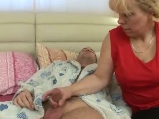 Porn Tube of Granny Starts With Some Sucking