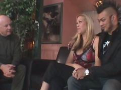 Blonde MILF Swinger Wife Gets a Creampie