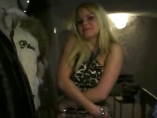 Porno Video of Filthy Amateur Blonde Czech Girl Ass Fucked And Squirts