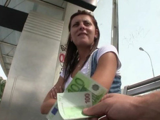 Porno Video of Czech Girl Waiting For The Tram Stuffed In Public With Stranger