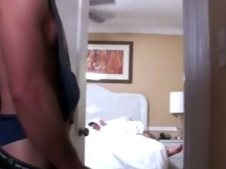 Porno Video of Sleeping Straighty Amateur Gets Sucked By Roommate