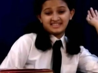 Porn Tube of Horny Indian School Girl