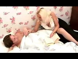 Porn Tube of Russian Mature Knows How To Put A Guy To Sleep