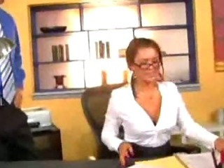 Porn Tube of Eva Angelina The Wild Secretary