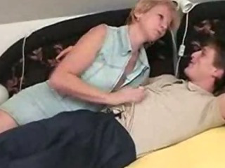 Porn Tube of Czech Mature Woman With Young Dude