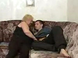 Porn Tube of Russian Boy Fucking With Fat Granny