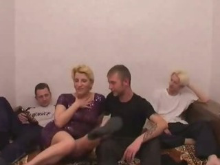 Porno Video of Mom Sex Party With Son And Friends #2