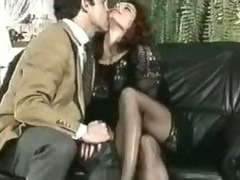 Erika Bella  vs. two cocks