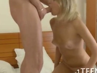 Porno Video of Sweet Teen Giving A Blowjob