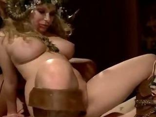 Porno Video of Busty Barmaid Bound