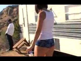 Porno Video of Interracial Trailer Anal Pimpin