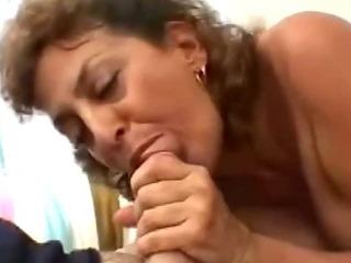Porno Video of Mouth Fucked Mature Slut Pov
