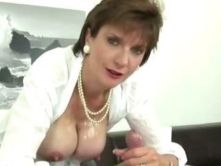 Porn Tube of Busty Mature Tit Job