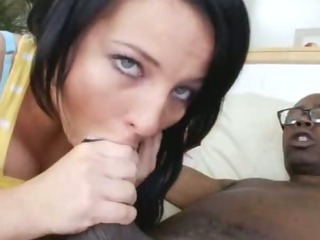 Porno Video of Big Black Cock For Casey Cumz
