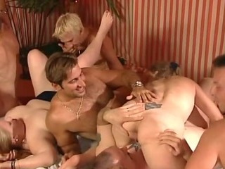 Porn Tube of Wild Group Sex So Many People