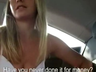 Porno Video of Amateur Blonde Babe Cars Backseat Blowjob And Banging