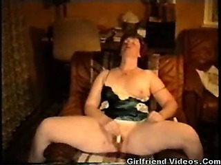 Porn Tube of Wife Has Vibrator Orgasm