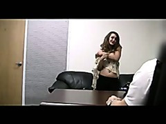 Dina Talked into Sucking Cock on Camera
