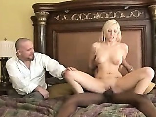 Porno Video of Blonde Wife Gets Another Kind Of Cock